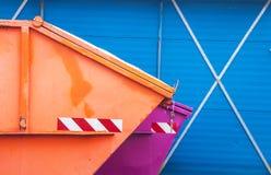 Εμπορευματοκιβώτιο αποβλήτων Στοκ Εικόνα