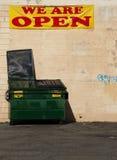 Εμπορευματοκιβώτιο 1 απορριμμάτων Στοκ Εικόνες