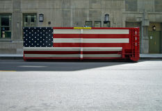 εμπορευματοκιβώτιο εμείς Στοκ φωτογραφία με δικαίωμα ελεύθερης χρήσης