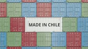 Εμπορευματοκιβώτιο με ΚΑΜΕΝΟΣ στο κείμενο της ΧΙΛΗΣ Η της Χιλής εισαγωγή ή η εξαγωγή αφορούσε την τρισδιάστατη απόδοση απεικόνιση αποθεμάτων