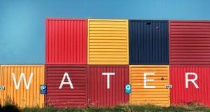 Εμπορευματοκιβώτιο με τα γκράφιτι σε NDSM, Άμστερνταμ στοκ φωτογραφία