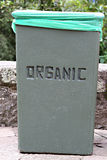 Εμπορευματοκιβώτιο οργανικών αποβλήτων Στοκ Φωτογραφία