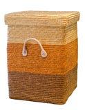 Εμπορευματοκιβώτιο που γίνεται από τα pandan φύλλα. Στοκ φωτογραφίες με δικαίωμα ελεύθερης χρήσης
