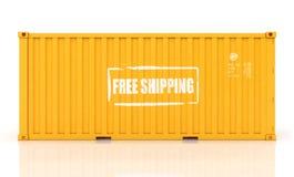 Εμπορευματοκιβώτιο φορτίου Στοκ εικόνα με δικαίωμα ελεύθερης χρήσης