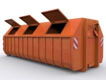 Εμπορευματοκιβώτιο Dumpster Στοκ φωτογραφία με δικαίωμα ελεύθερης χρήσης