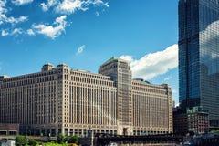 Εμπορεύματα Mart που χτίζουν το Σικάγο Στοκ Εικόνες