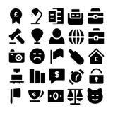 Εμπορικά διανυσματικά εικονίδια 3 Στοκ εικόνα με δικαίωμα ελεύθερης χρήσης