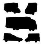 εμπορικά οχήματα Στοκ Φωτογραφίες