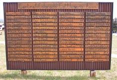 Εμπορικά σήματα βοοειδών του Κολοράντο Στοκ φωτογραφία με δικαίωμα ελεύθερης χρήσης