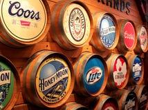 Εμπορικά σήματα μπύρας Coors Στοκ φωτογραφίες με δικαίωμα ελεύθερης χρήσης