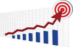 Εμπορικές συναλλαγές αποθεμάτων στόχων στοκ εικόνες
