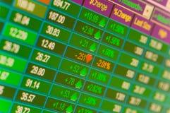 εμπορικές συναλλαγές αποθεμάτων Στοκ φωτογραφία με δικαίωμα ελεύθερης χρήσης