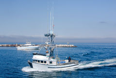 εμπορική αλιεία βαρκών Στοκ φωτογραφία με δικαίωμα ελεύθερης χρήσης