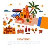 Εμπορική απεικόνιση Κούβα Αβάνα ελεύθερη απεικόνιση δικαιώματος