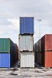 Εμπορική αποβάθρα Στοκ Εικόνα