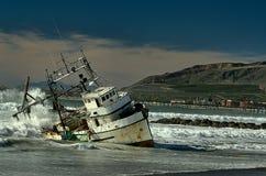 Εμπορική βάρκα Στοκ Εικόνα