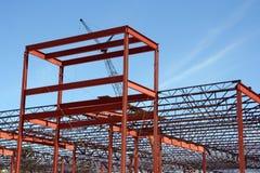 Εμπορική κατασκευή εμπορικών κέντρων Στοκ φωτογραφίες με δικαίωμα ελεύθερης χρήσης