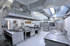 Εμπορική κουζίνα Στοκ Εικόνες