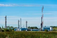 εμπορικός αερίου ανεφοδιασμός τομέων των φυτών πετρελαίου οικιακών υγροποιημένος βιομηχανία LPG φυσικός Στοκ φωτογραφία με δικαίωμα ελεύθερης χρήσης