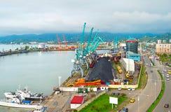 Εμπορικός θαλάσσιος λιμένας, Γεωργία στοκ εικόνες με δικαίωμα ελεύθερης χρήσης
