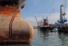 Εμπορικός  θαλάσσιος λιμένας στοκ φωτογραφίες με δικαίωμα ελεύθερης χρήσης