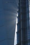 εμπορικός κόσμος κεντρικών πύργων Στοκ εικόνα με δικαίωμα ελεύθερης χρήσης