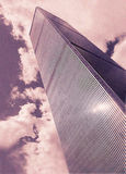 εμπορικός κόσμος κεντρικών πύργων Στοκ Εικόνες