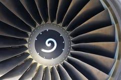 εμπορικό αεριωθούμενο αεροπλάνο μηχανών επιβατηγών αεροσκαφών Στοκ Φωτογραφία