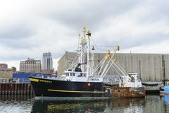 Εμπορικό αλιευτικό σκάφος Norseman Στοκ Φωτογραφία