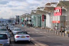 Εμπορικό κέντρο ή λεωφόρος. Στοκ φωτογραφία με δικαίωμα ελεύθερης χρήσης