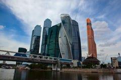 εμπορικό κέντρο διεθνής Μόσχα Στοκ εικόνες με δικαίωμα ελεύθερης χρήσης