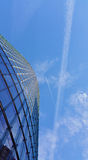 Εμπορικό κέντρο και ο ουρανός Στοκ Φωτογραφίες