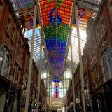 Εμπορικό κέντρο τετάρτων Βικτώριας, Λιντς, Δυτικό Γιορκσάιρ, UK Στοκ φωτογραφίες με δικαίωμα ελεύθερης χρήσης