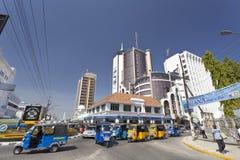 Εμπορικό κέντρο της Μομπάσα, Κένυα, εκδοτική Στοκ Φωτογραφίες