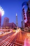 Εμπορικό κέντρο της Ταϊβάν ` s με τη Ταϊπέι 101 Στοκ φωτογραφία με δικαίωμα ελεύθερης χρήσης