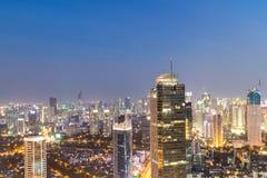 Εμπορικό κέντρο της Τζακάρτα τη νύχτα Στοκ Εικόνες