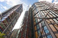 Εμπορικό κέντρο του Λονδίνου από την εναέρια άποψη Στοκ Εικόνες