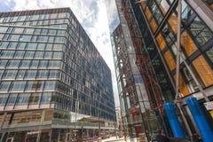 Εμπορικό κέντρο του Λονδίνου από την εναέρια άποψη Στοκ φωτογραφία με δικαίωμα ελεύθερης χρήσης