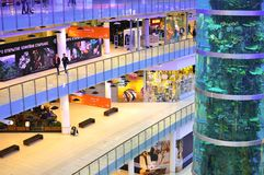 Εμπορικό κέντρο Aviapark, Μόσχα, Ρωσία Στοκ Εικόνες