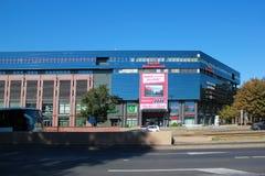 Εμπορικό κέντρο Dominikanska, οδοί WROCLAW στην ΠΟΛΩΝΊΑ - 12 09 2016: Πολωνία, Ευρώπη Στοκ Εικόνες