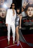 Εμπορικό σήμα και Katy Perry του Russell Στοκ Φωτογραφία