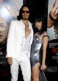 Εμπορικό σήμα και Katy Perry του Russell Στοκ Εικόνες