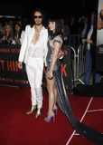 Εμπορικό σήμα και Katy Perry του Russell Στοκ φωτογραφίες με δικαίωμα ελεύθερης χρήσης