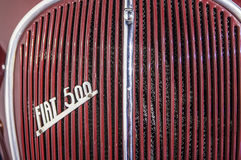 1936 εμπορικό σήμα λογότυπων της Φίατ έξω από το αυτοκίνητο Στοκ Εικόνες