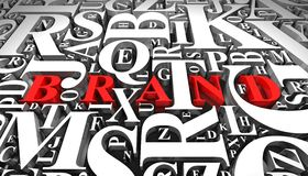 εμπορικό σήμα Διανυσματική απεικόνιση