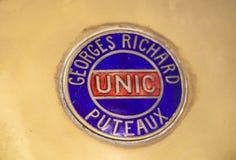 Εμπορικό σήμα Georges Richard Logo έξω από το αυτοκίνητο στοκ εικόνες με δικαίωμα ελεύθερης χρήσης