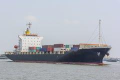 Εμπορικό σκάφος εμπορευματοκιβωτίων Στοκ Εικόνες