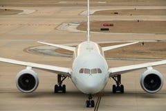 Εμπορικό jumbo - αεριωθούμενο αεροπλάνο στοκ φωτογραφία με δικαίωμα ελεύθερης χρήσης