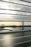 Εμπρός άποψη γεφυρών Στοκ Φωτογραφία
