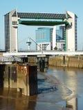 εμπόδιο παλιρροιακό Στοκ φωτογραφία με δικαίωμα ελεύθερης χρήσης